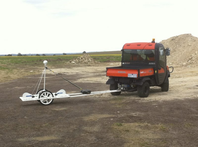 Electromagnetic survey for soil differences