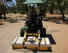 3D ground penetrating radar survey